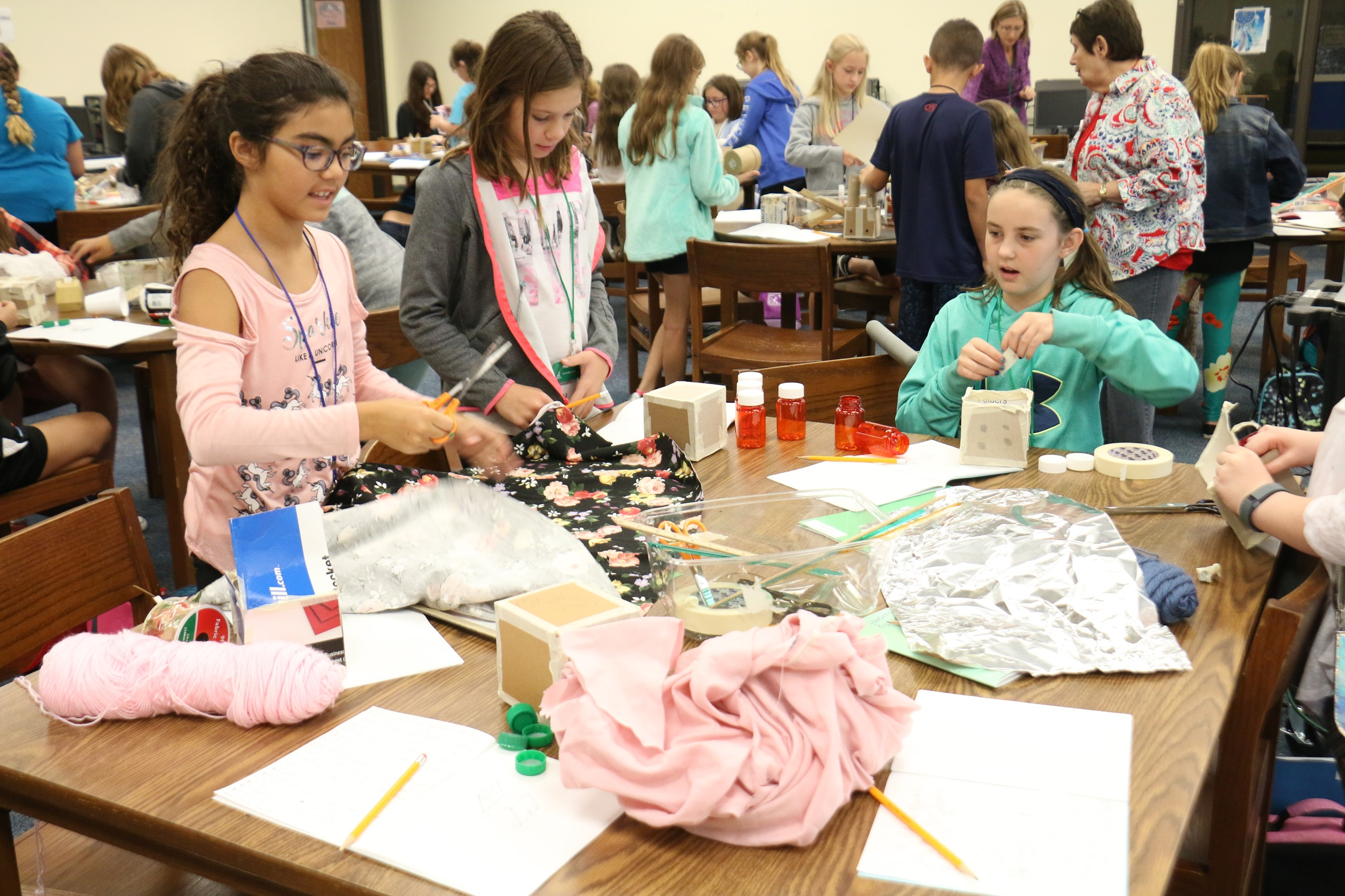 Students express their creativity at TCESC'ss STEAM Powered Learning Program