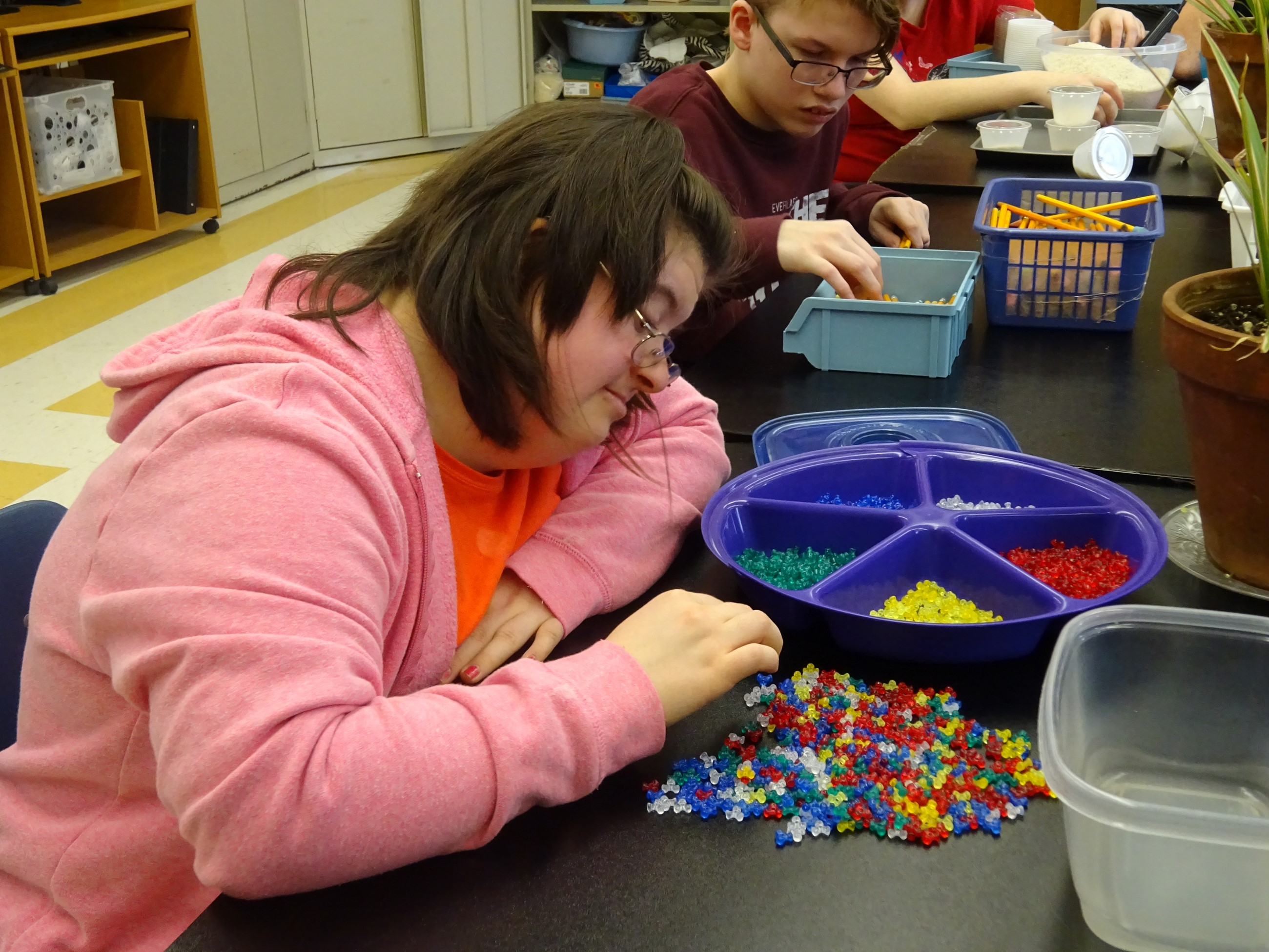 TCESC's multiple disabilities program provides hands-on learning for students.