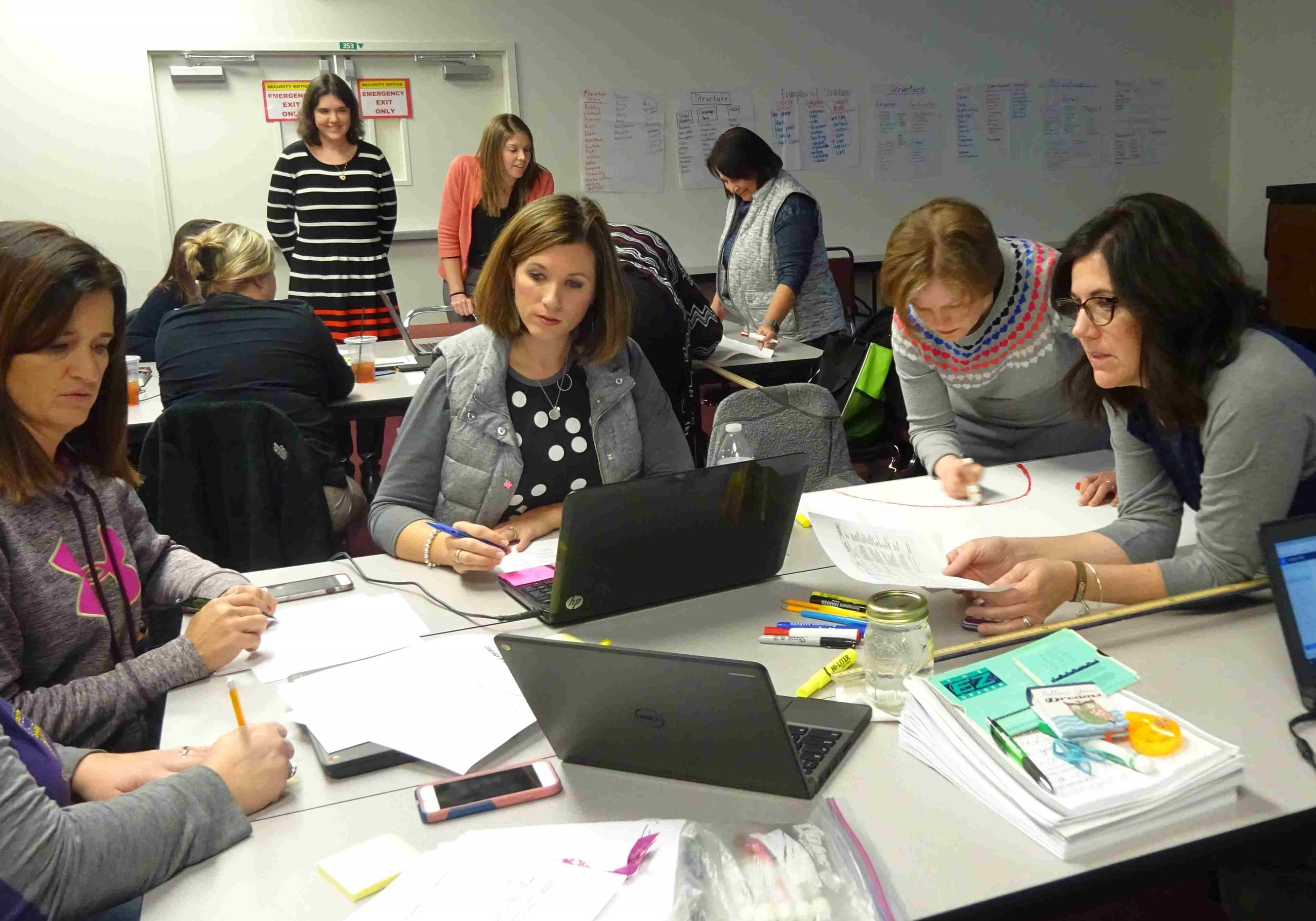 TCESC provided gifted professional development for teachers throughout the county.