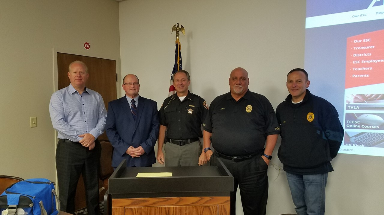 TCESC provide its first school resource officer training