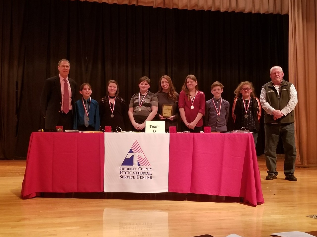 Southington Elementary prep bowl team was recognized as the runner up of the TCESC elementary prep bowl competition.