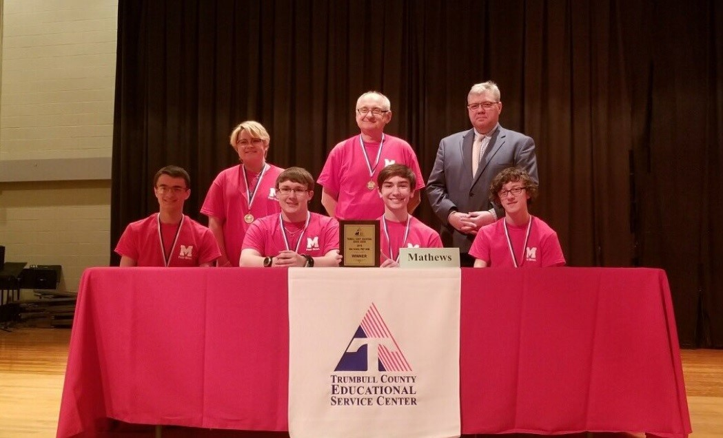 Mathews High School wins TCESC High School Prep Bowl