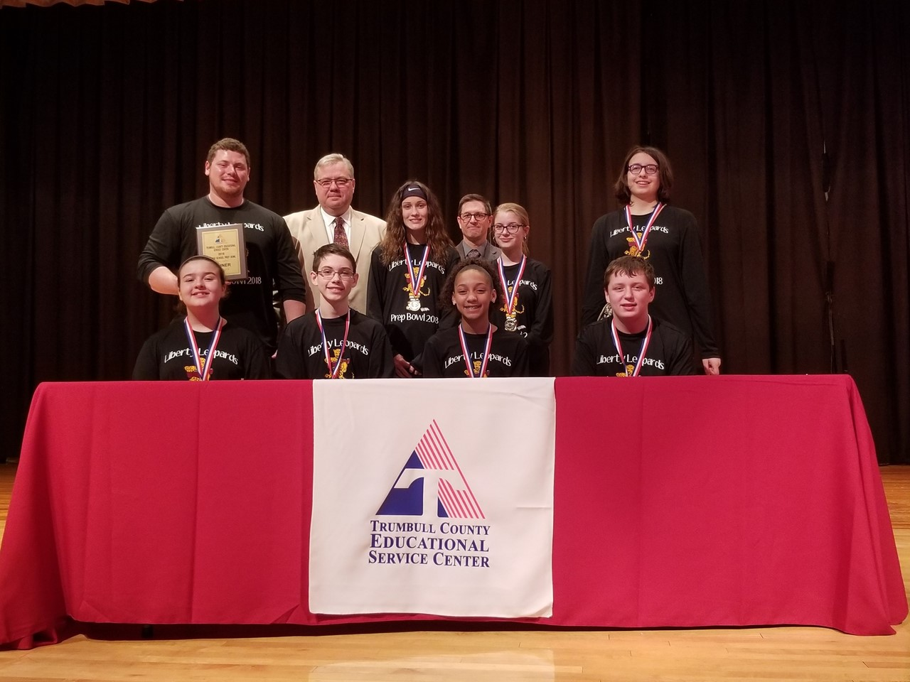 Liberty Local Schools wins TCESC Junior High Prep Bowl