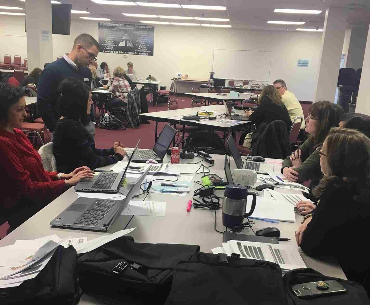 TCESC worked with school districts on the Striving Readers Comprehensive Literacy Grant.