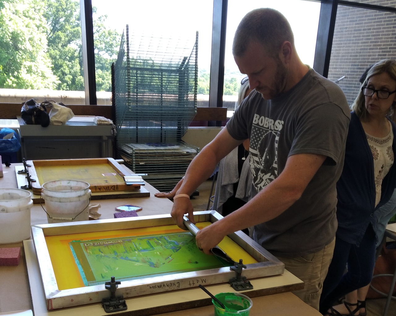 Art educators receive hands-on experience during TCESC'S 2018 Summer of Growth