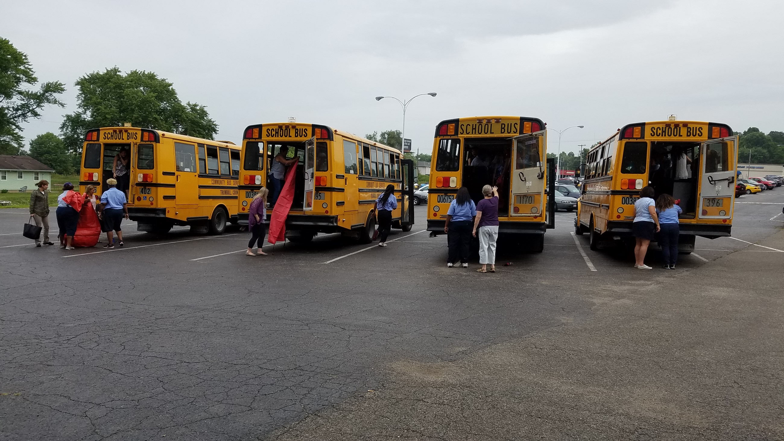 TCESC hosts its annual bus evacuation training in Niles