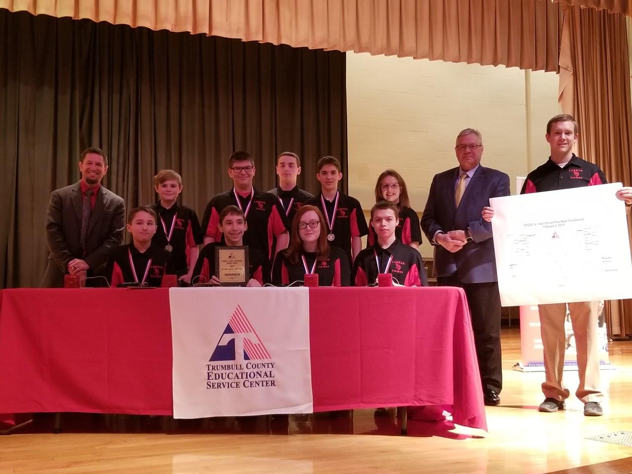 LaBrae Middle School wins TCESC Jr. High Prep Bowl
