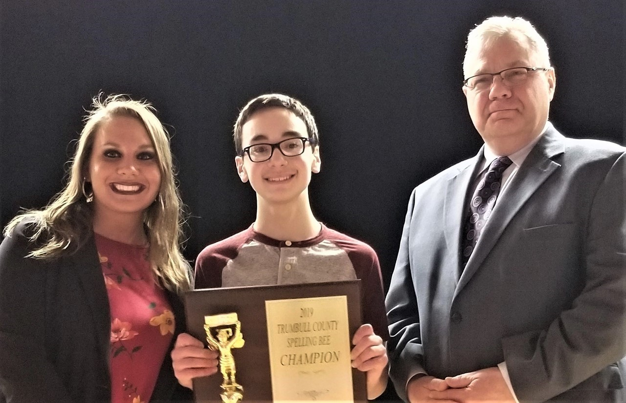 Liberty student wins 2019 TCESC Spelling Bee