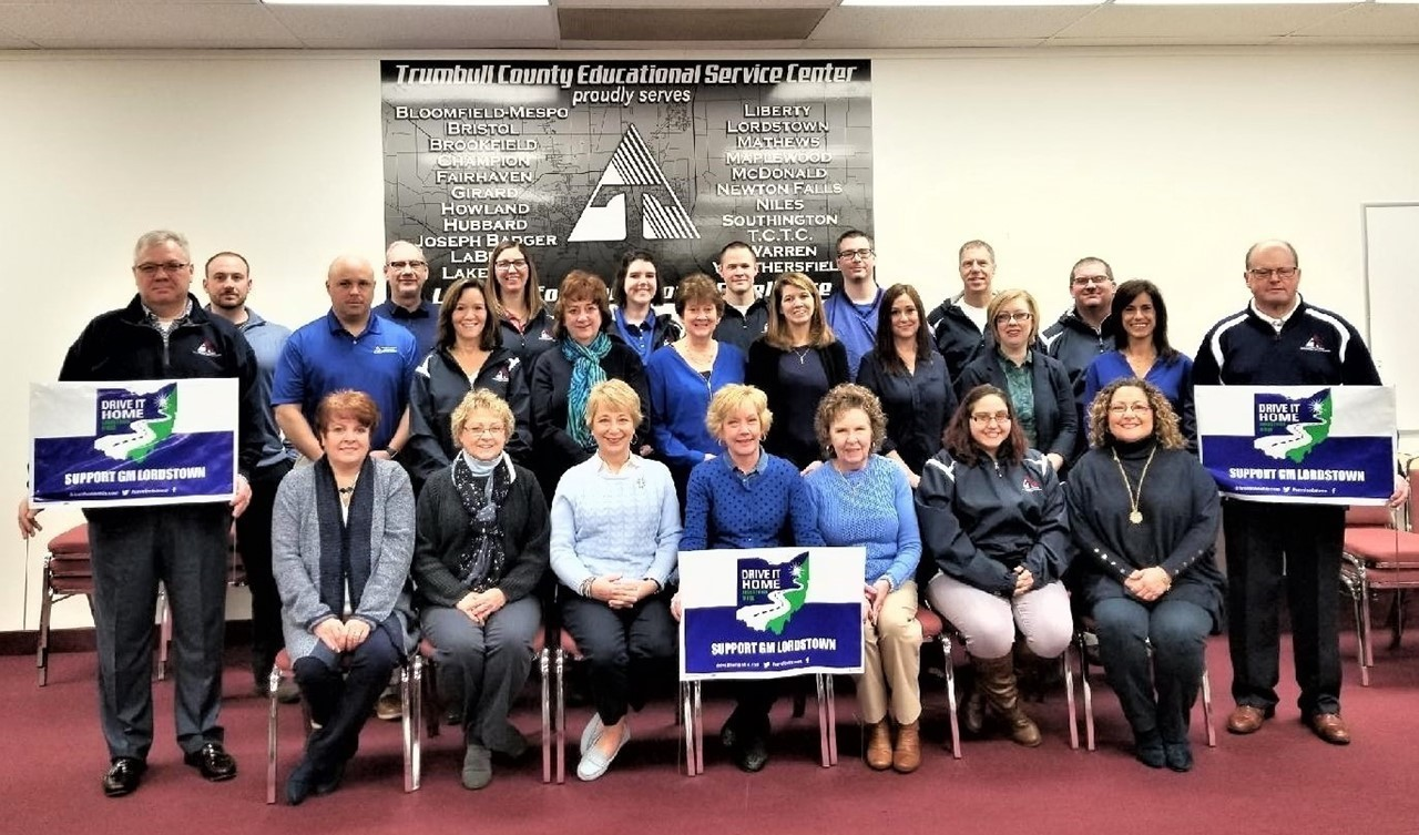 TCESC IS TRUE BLUE And PROUDLY SUPPORTS GM LORDSTOWN!