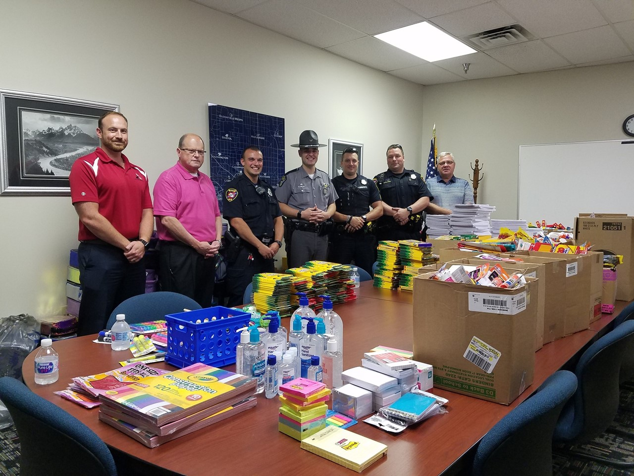 TCESC & OSHP team up to provide school supplies to Trumbull County students.