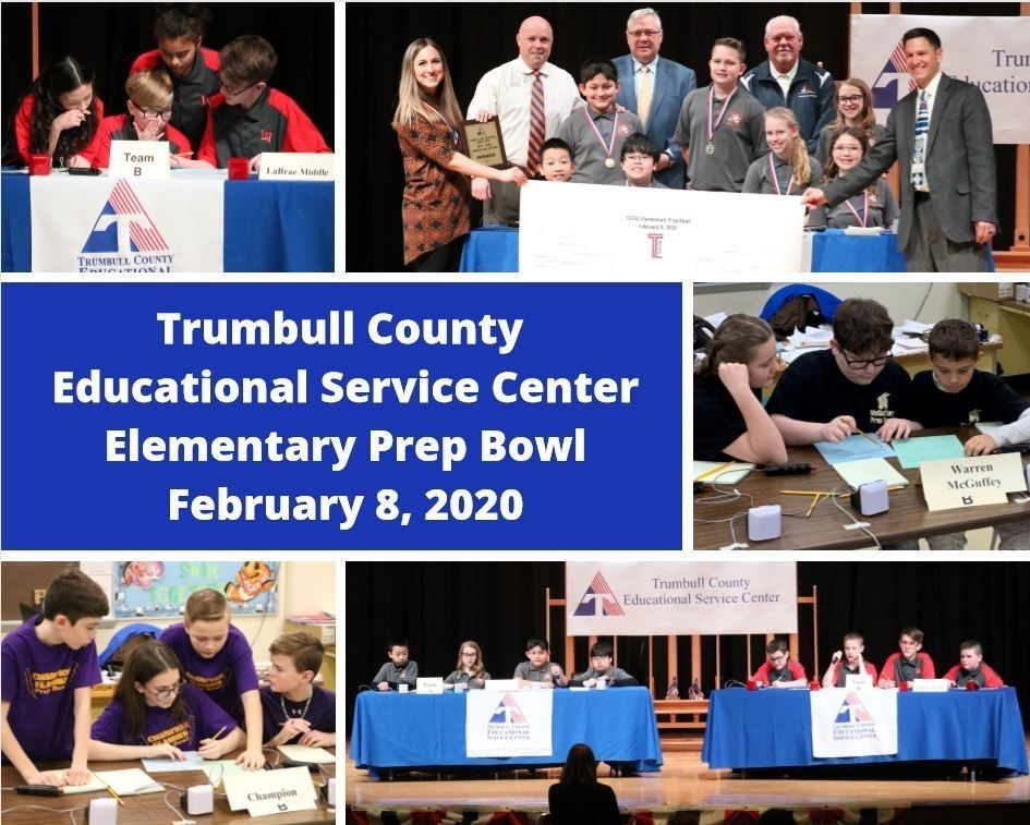 TCESC Elementary Prep Bowl 2020
