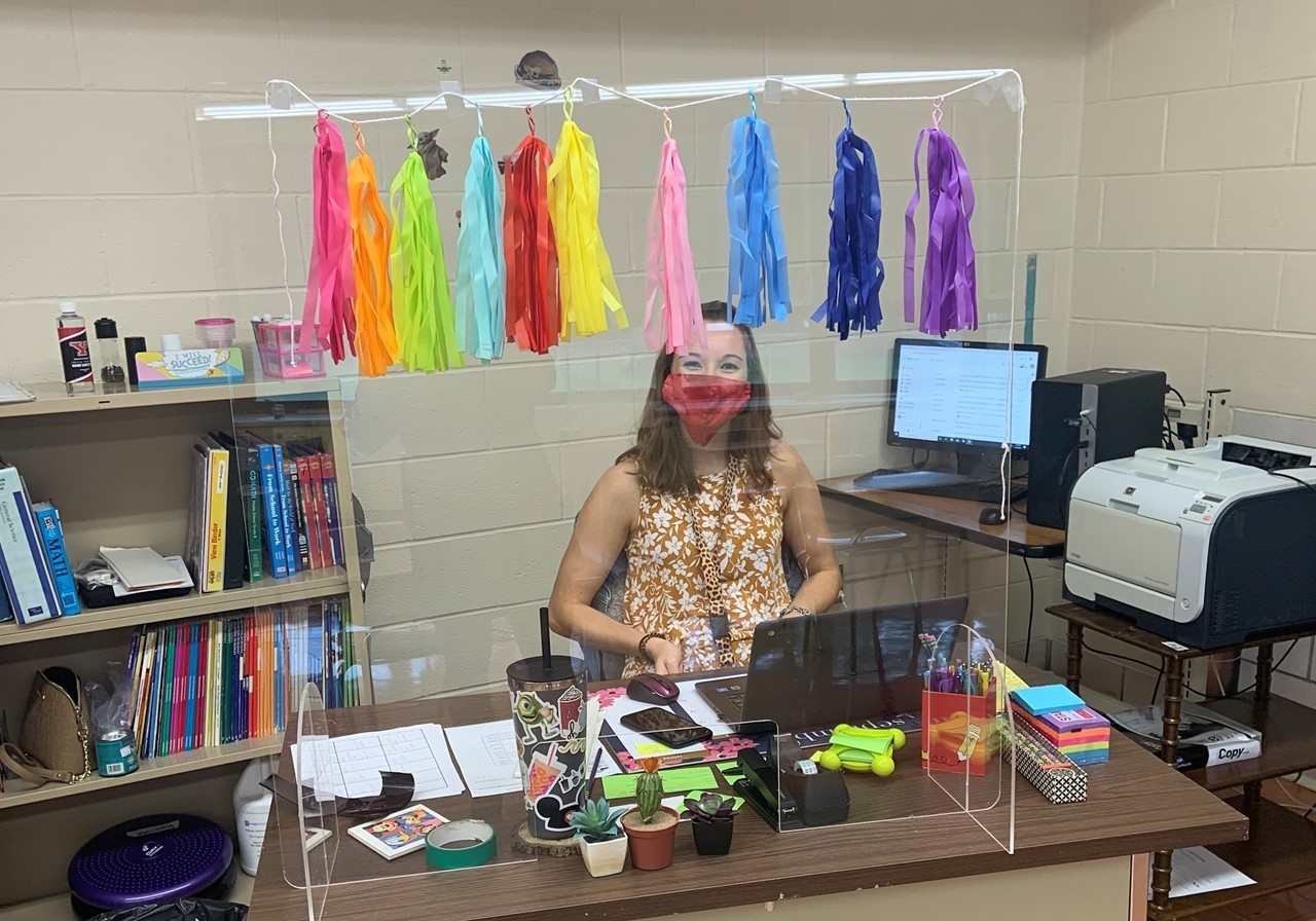 Dana Blank, TCESC ED Teacher at The Liberty Learning Center, is ready to welcome students when classes start Sept. 8.