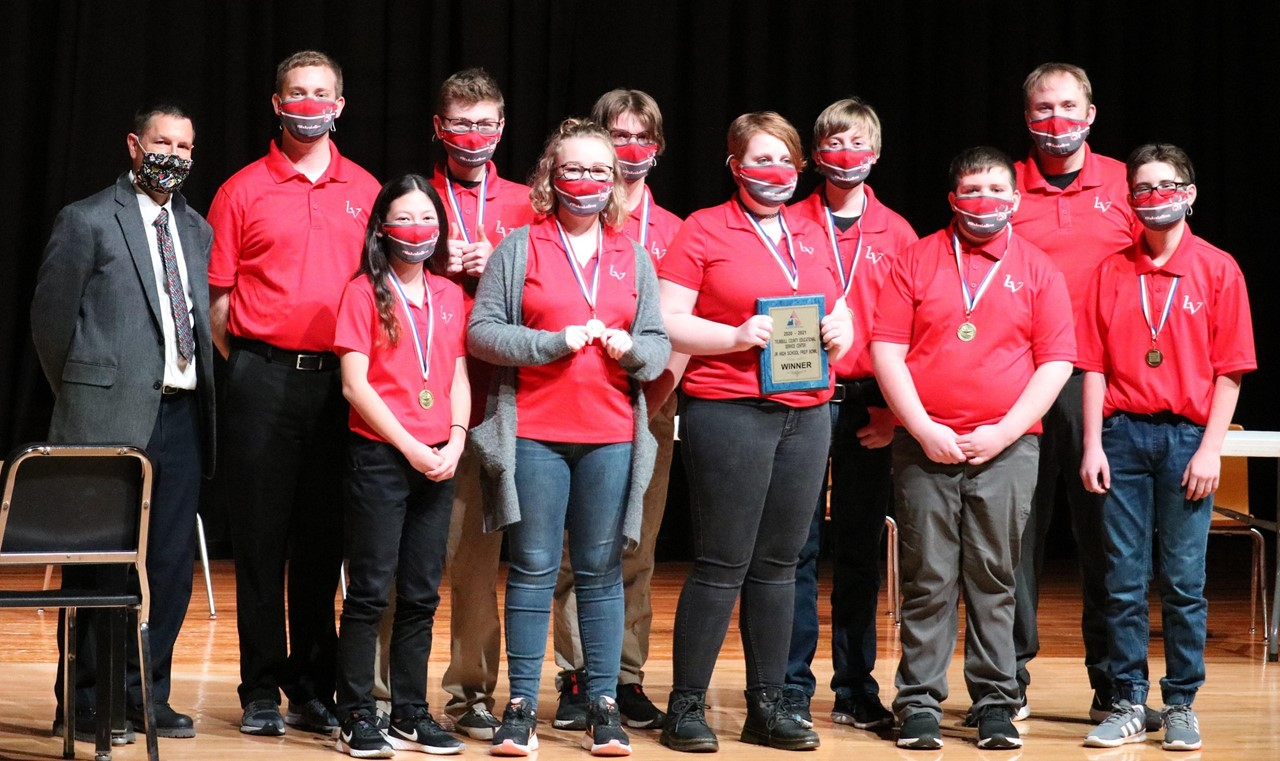 Congratulations Junior High Prep Bowl Winners: LaBrae Middle School!