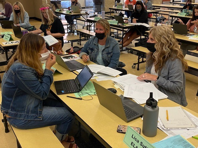 Summer of Growth 2021 - Teachers participating in group activities