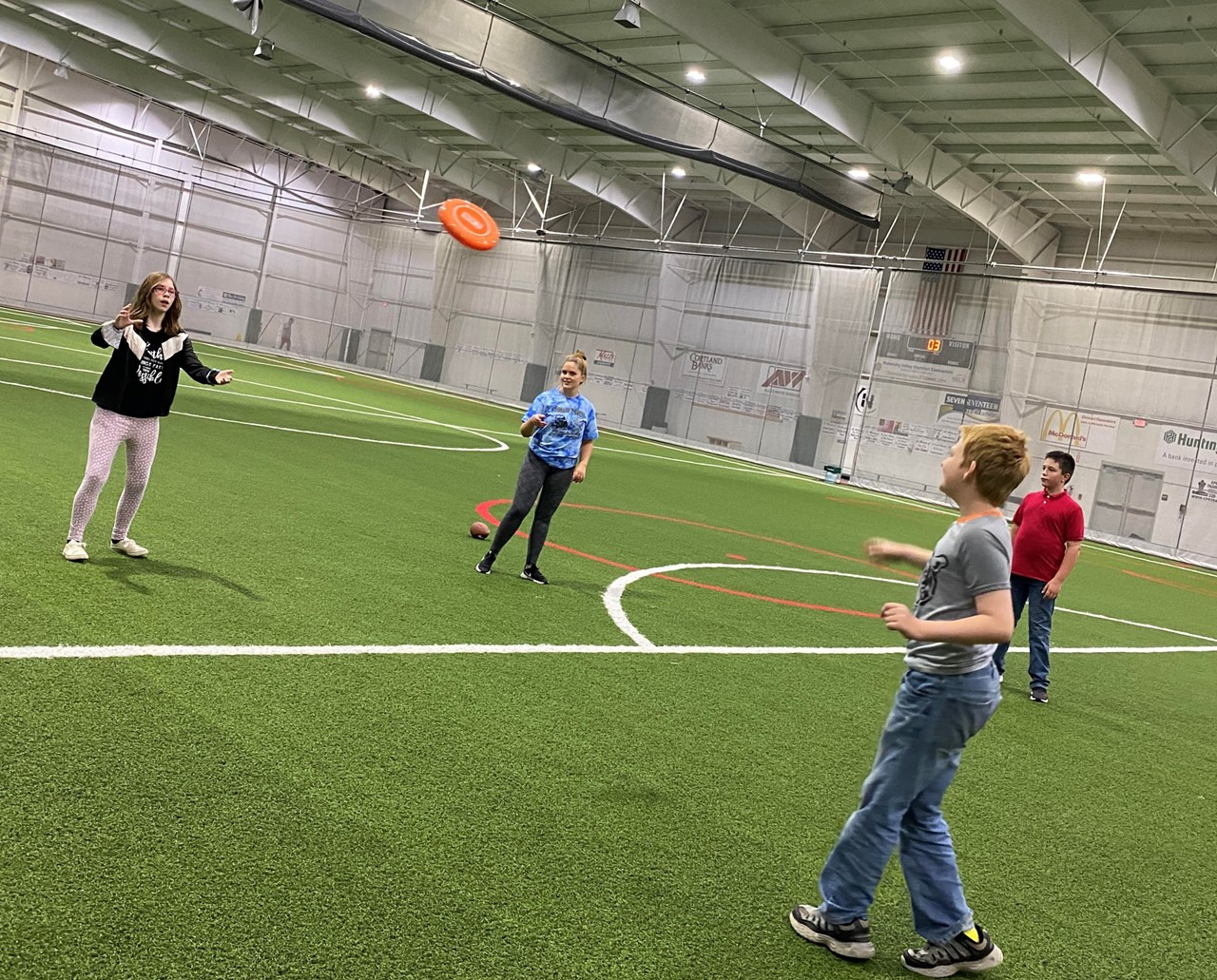 TCESC ED Students get active during the Summer Recovery Program at the Niles Wellness Center.